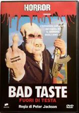Dvd Bad Taste - Fuori di testa di Peter Jackson 1987 Nuovo