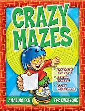 New, Crazy Mazes (Puzzles & Activity), n/a, Book