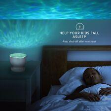 Onde Mare Oceano LED LUCE NOTTURNA PROIETTORE ROMANTICA illuminazione rilassante & Music Player
