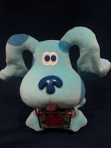 Vintage 1998 Blues Clues Plush Stuffed Animal plus Handy Dandy Notebook