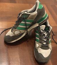 scarpe adidas zx 750 Tg. 44 Grigie E Verde Shoes Originals 9,5 Uk