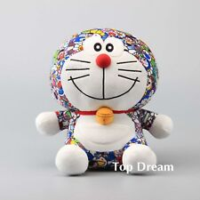 JAPAN Uniqlo DORAEMON X Takashi Murakami Plush Toy Stuffed Doll 10'' LIMITED