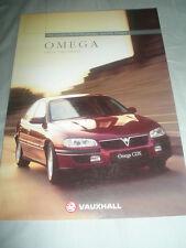 Vauxhall Omega range brochure 1996 models ed 2