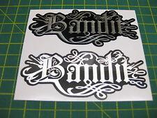 2 Bandit Relentless Style Chrome on black