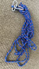 Outdoor Mountaineering - Rock Climbing Rope With 2 Carabiners