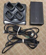 Motorola / Symbol 4 Bay Battery Charger Kit for MC9060 9090 9190 SAC9000-4000