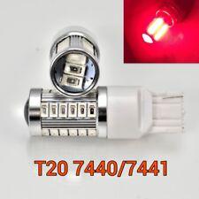 T20 7440 7441 12V 33SMD Red LED Light Reverse Backup M1 For Acura Honda MAR