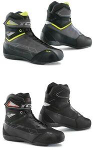TCX Eile 2 Wasserdicht Mikrofaser/Wildleder Motorrad/Roller Knöchel Stiefel