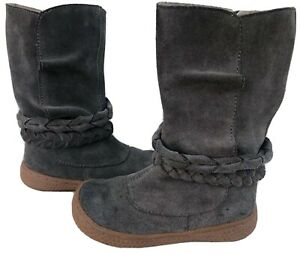 EUC GUC Livie & Luca Shoes Boots Calliope Gray 6