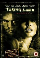 DVD:TAKING LIVES - NEW Region 2 UK