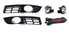 2x Nebelscheinwerfer Klarglas + Gitter + Kabelbaum für VW Passat 3C2 3C5 E-Prüf.