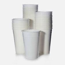 Trinkbecher Plastikbecher weiß 0,2 l Becher PP 500 Einwegbecher 200 ml