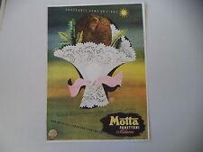 advertising Pubblicità 1939 PANETTONE MOTTA