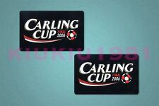 Football League Cup Carling Cup 2006 Final Sleeve Soccer Patch / Badge
