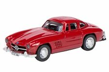 MERCEDES BENZ 300 SL COUPÉ rouge 1:87 SCHUCO 452606300