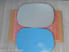 B713L Fits 97-04 DAKOTA DURANGO RAM Mirror Glass Driver Side LH NEW + Adhesive