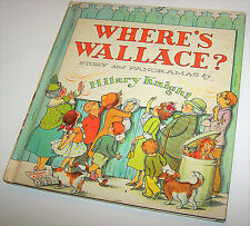 Vintage 1964 Where's Wallace? by Hilary Knight Hardcover Children's Book - Waldo