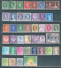 100 Great Britain, India, Antigua, Misc singles Clh, 1986 Postcard of Po Rifles