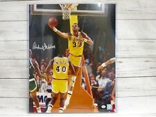 Kareem Abdul-Jabbar Los Angeles Lakers Signed 16x20 Photo Online Authenticated