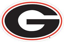 UGA UNIVERSITY OF GEORGIA Large Logo Cornhole Decals / SET of 2