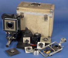 SINAR4x5 camera system 5 Graflex Optar Ektar Graphex symmar lenses rare kit case