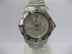 Gents Tag Heuer 2000 Automatic Watch Steel Bracelet Silver Dial WK2116