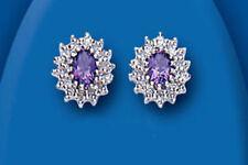 Gioielli di lusso in argento sterling diamante, da 925 parti su 1000