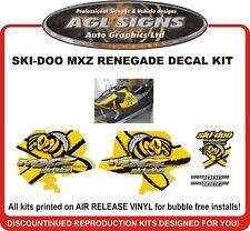 2006 2007 SKI-DOO MXZ 1000 Renegade Reproduction Decal Kit  graphics stickers