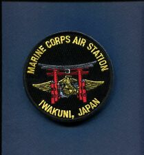 MARINE CORPS MCAS AIR STATION IWAKUNI JAPAN USMC Base Squadron Patch
