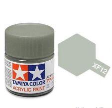 Tamiya 81712 Mini Xf12 J.n. Grey Vernice acrilica 10ml modellismo statico