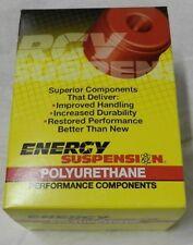 Energy Suspension 8.3126G Control Arm Bushing Set Black Front Performance Polyu