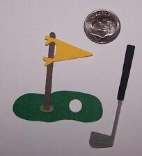 2 Golf Sets Premade PAPER Die Cuts / Scrapbook & Card Making