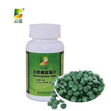 100% Natural Organic Spirulina Tablet Anti-fatigue Enhance Immunity Loss Weight