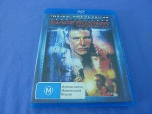 Blade Runner The Final Cut Blu-Ray 2-Disc Harrison Ford Free Tracked