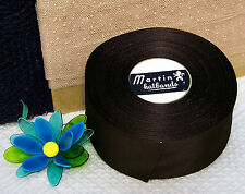 """BTY Vintage 2"""" Silky Rayon Grosgrain Ribbon Finished Edge Hat Band Millinery"""