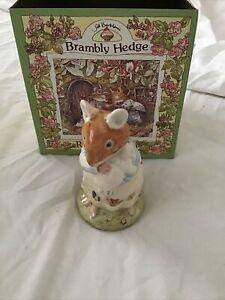 Brambly Hedge Royal Doulton Dusty and Baby, bnib DBH26