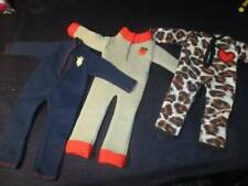 "Action Figure Clothes ~ 1/6 12"" 3 Jumpsuits Vintage #21"