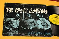 THE LIGHT COMPANY LP YOU'VE GOT A FRIEND ORIG UKA '70 EX