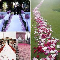 10000pcs Various Color Silk Flower Rose Petals Wedding Party Decorations Favors