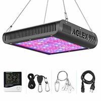 AGLEX LED Grow Light 600W, Plant with Thermometer Humidity 600w