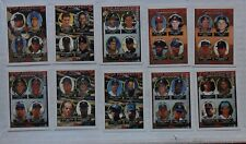 1993 Topps Baseball TOP PROSPECTS Set (10 Cards) ~ Chipper Jones Mike Piazza ++