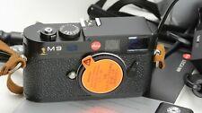 Leica M9 18MP Digital Kamera Body, Auslösungen/shutter count 29450