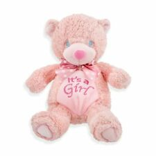 "9"" It's a Girl Bear - Great for Baby Shower Gift or Decorations - FREE SHIP"