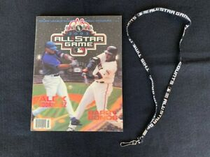 2003 MLB ALL STAR GAME OFFICIAL PROGRAM & OFFICIAL LANYARD