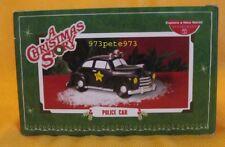 Police Car - Dept 56 A Christmas Story - New