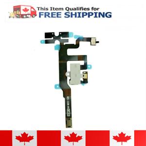 Iphone 4S White Volume Audio Jack Flex Cable