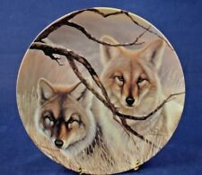 Bradex Collectors Plate EYES OF SILENCE 5th From Eyes Of The Wild Series
