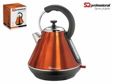 SQ Pro Purple Electric Cordless 1.8L Kettle 2200W Speed Boil amber / orange