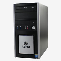 Terra PC Intel Core i3 4130 2x3,40 GHz 4GB DDR3 120 GB SSD DVD-ROM Win 10 Pro