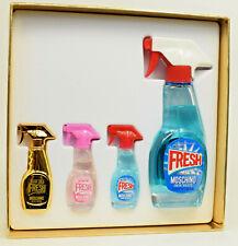 Moschino Fresh Couture  Perfume  50ml  EDT Spray + Miniatures  GIFT SET  NEW